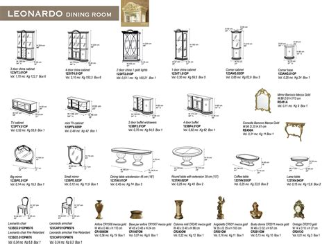 Standard Dining Room Furniture Dimensions by Standard Dining Table Dimensions