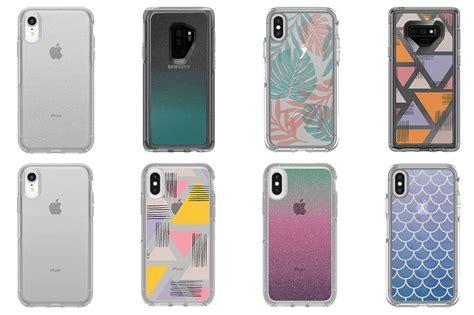 otterbox cases protection through phones transparent
