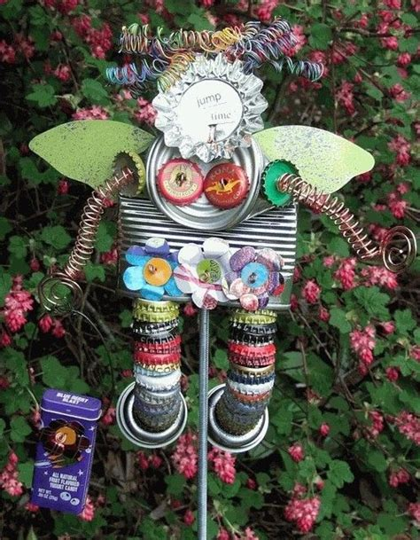 garden junk art angel pinterestcom plants  garden