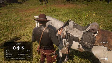 horse rdr2 game got comments