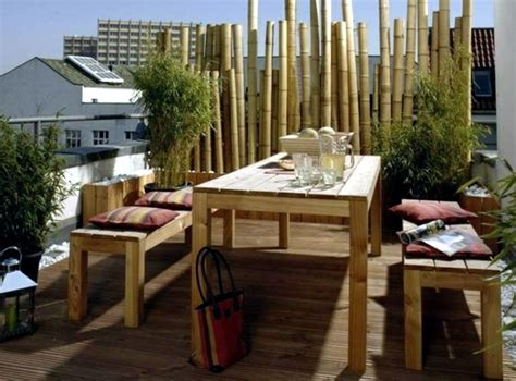 Bamboo blinds Balcony ? design ideas for Feng Shui Style