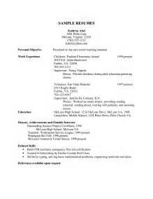 resume exles for child care objectives resume assistant preschool teacher resume sales teacher lewesmr