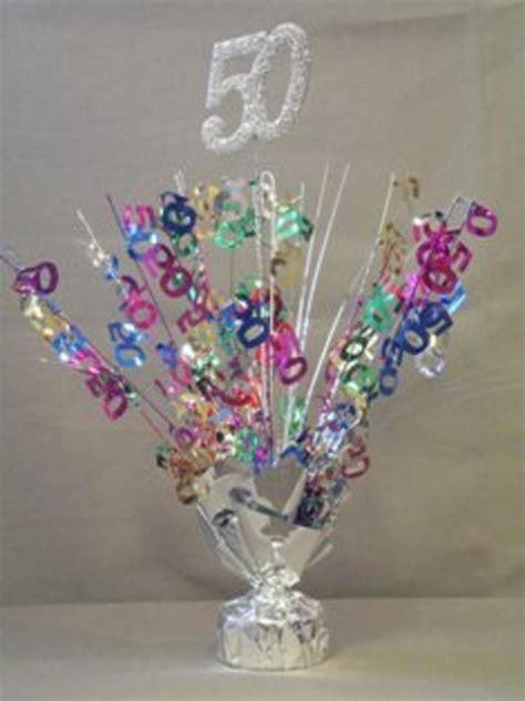 40th Birthday Decorations Ebay by 2 Metallic Multicolor 50th Anniversary Or Birthday Balloon