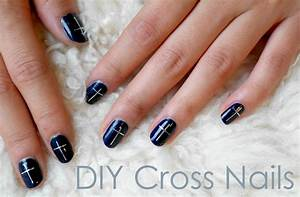 Deconstrut: Dot the I's and Cross the T's:: DIY Cross Nails