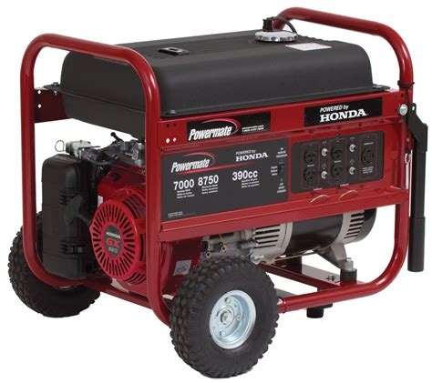 small propane generators for home use powermate pm0497000 04 8 750 watt 389cc 13hp honda gx390