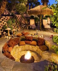 Foyer Ext U00e9rieur Dans Le Jardin  50 Id U00e9es Remarquables