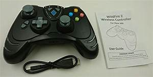 Xbox 360 Turbo Fire 2 Wireless Controller With Rumble New