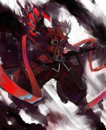 ruby rose vs ragna ruby rose rwby vs ragna the bloodedge blazblue anime