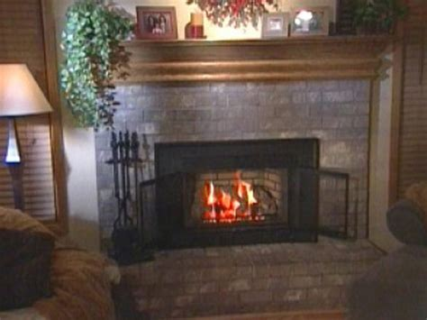 installing gas fireplace insert how to install a doggie door in a wall