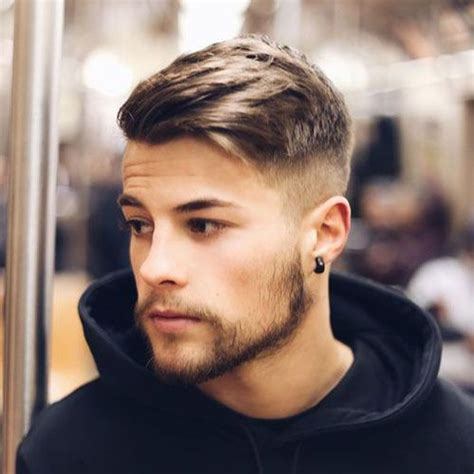 mans hair styles 25 s haircuts side sweep hair high fade and