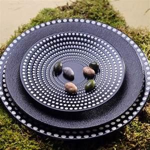Lot D Assiette Pas Cher : assiette plate vesuvio noir lot de 6 achat assiette plate vesuvio noir lot de 6 pas cher ~ Melissatoandfro.com Idées de Décoration