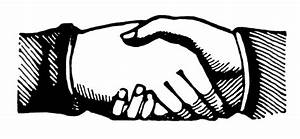 Vintage Clip Art - Shaking Hands - Victorian - The ...