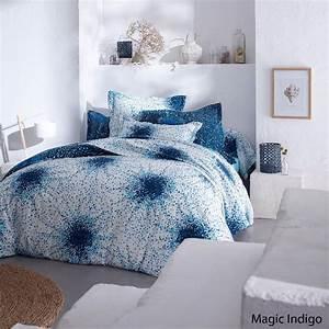 Taie D Oreiller 50x70 : taie d 39 oreiller magic indigo 50x70 linge de maison ~ Teatrodelosmanantiales.com Idées de Décoration