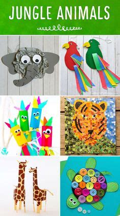 jungle theme activities images jungle crafts