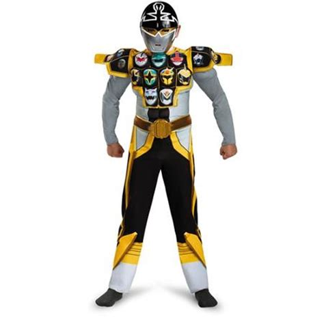 power rangers megaforce silver ranger child costume ebay