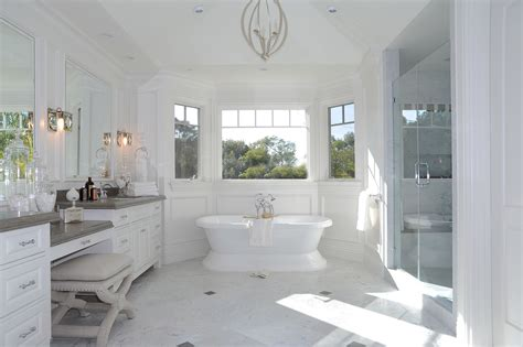 Large White Tiles For Bathroom by Cape Cod In California Dtm Interiors By Aimee Miller