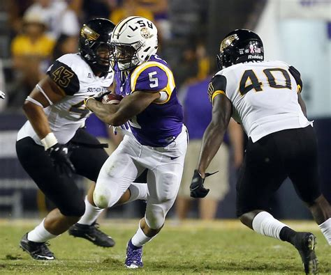 Ed Orgeron: LSU will use 'rotation' at running back ...