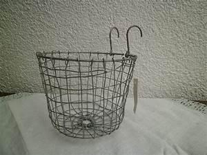 Korb Zum Einhängen : shabby chic draht korb mit b gel h ngekorb fahrradkorb ~ A.2002-acura-tl-radio.info Haus und Dekorationen