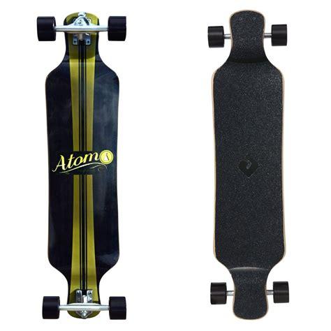 Atom 39 Drop Deck Longboard Artisan Brown by Atom 39 Quot Micro Drop Deck Longboard Artisan Brown