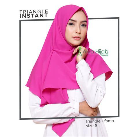 model hijab segitiga instan tutorial hijab terbaru