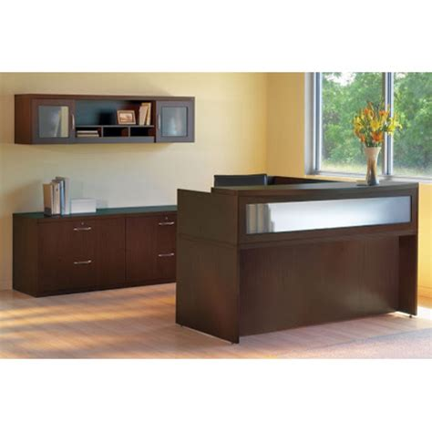 Mayline Reception Desk by Aberdeen Reception By Mayline Cheyenne Office Furniture