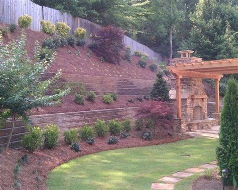 landscaping hillside pin by nicole phillips on house plans for the future pinterest
