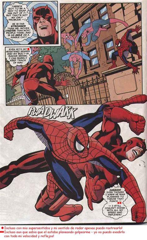 spiderman  daredevil battles comic vine