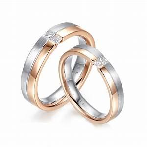 dual band princess cut diamond wedding ring england With dual band wedding rings
