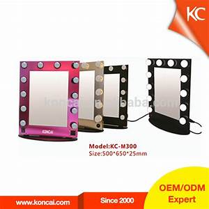 Wholesale Cheap Vanity Makeup Mirror With Light,Metal