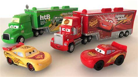 Disney Pixar Mack Truck And Disney Cars Lightning Mcqueen