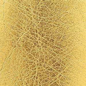 Close up shot of gold leather texture background Stock