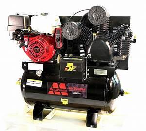 Mega Air Compressor - 13hp Honda Gx390