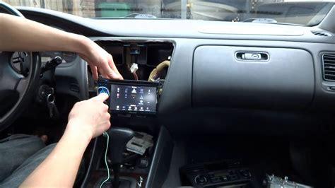 How Install Car Stereo Pioneer Avh Honda