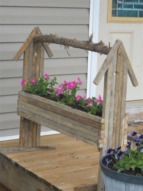 tobacco stick furniture tobacco stick birdhouse flower
