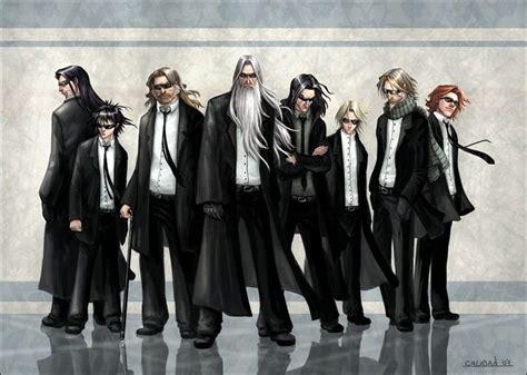 Hp Characters As Men In Black Sirius, Harry, Scrimgeour