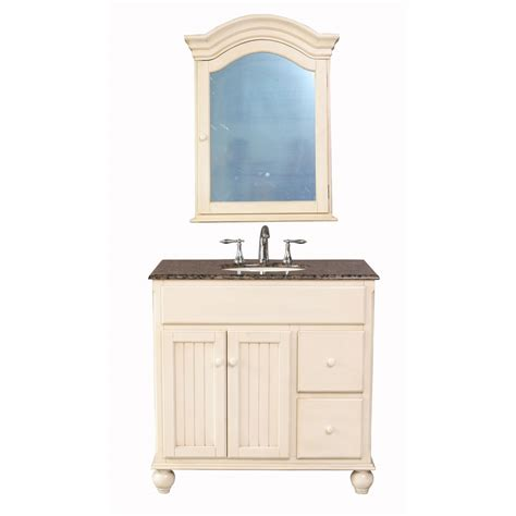 stufurhome  snow white single sink vanity  baltic