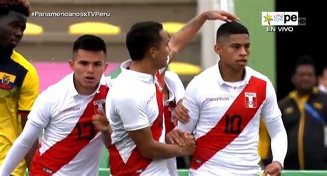 Perú vs. Ecuador: ¿gol de Kevin Quevedo o autogol? La ...