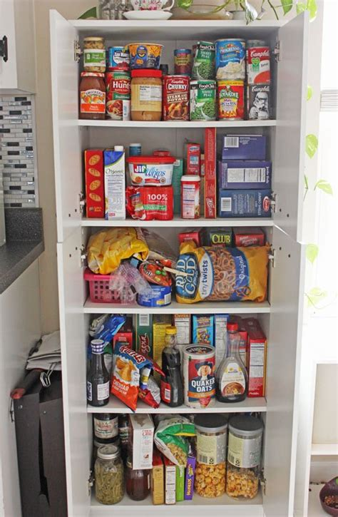 Inexpensive Kitchen Pantry Cabinet by Create An Open Shelving Pantry With Ikea Shelves Hometalk