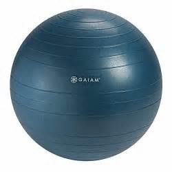 gaiam balance ball chair replacement ball 52cm ocean