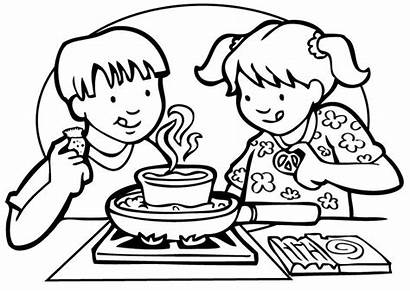 Cooking Coloring