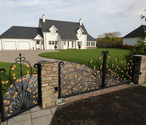 electric driveway gates glasgow our work grand gates