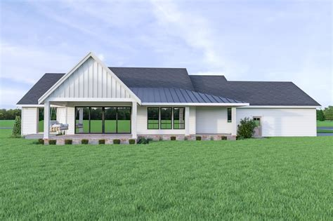 Contemporary Style House Plan 4 Beds 2 5 Baths 2883 Sq