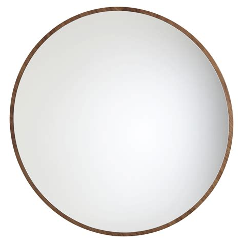 bulle wall mirror large 216 120 cm walnut by maison lavoine