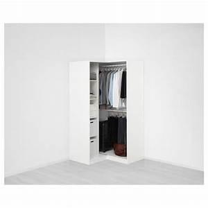 Ikea Pax Eckelement Neu : pax garderobeskap hj rnel sning hvit grimo hvit ikea ~ Watch28wear.com Haus und Dekorationen