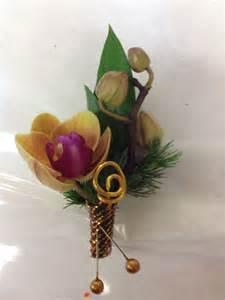orchid boutonniere prom corsages boutonnières