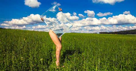 conceptual photography examines  human form  nature