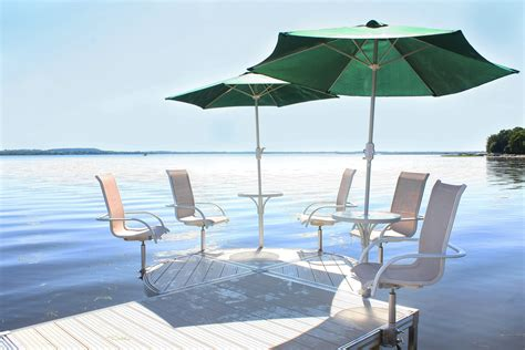 Boat Dock Umbrella by Accessories Pier Waterfront Solutions Llc