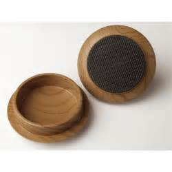tic 66mm wood effect non slip castor cup 4 pce i n 4050119 bunnings warehouse