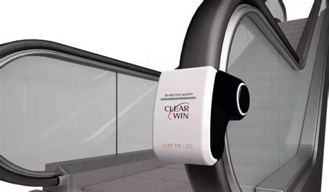New sanitizer promises germ-free escalator handrails