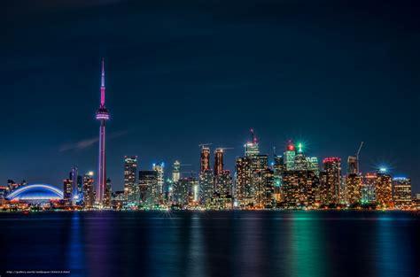 壁紙をダウンロード トロント, ライト, カナダ, オンタリオ デスクトップの解像度のための無料壁紙